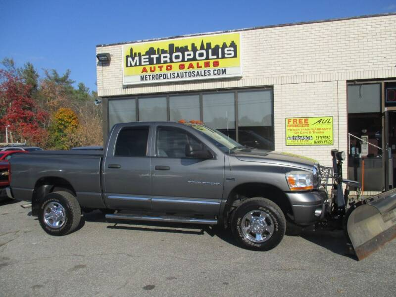 2006 Dodge Ram Pickup 2500 for sale at Metropolis Auto Sales in Pelham NH