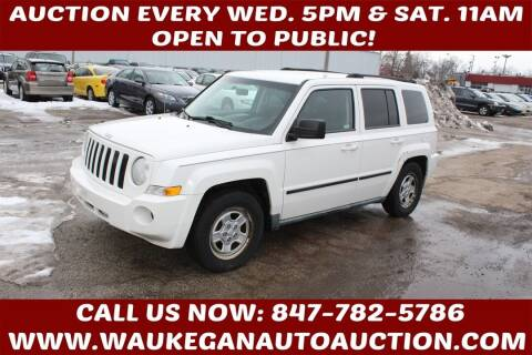 2010 Jeep Patriot for sale at Waukegan Auto Auction in Waukegan IL