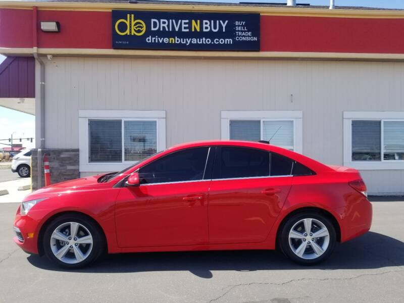 2015 Chevrolet Cruze for sale at Drive N Buy, Inc. in Nampa ID