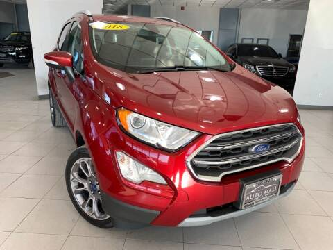 2018 Ford EcoSport for sale at Auto Mall of Springfield in Springfield IL
