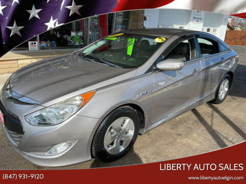 2011 Hyundai Sonata Hybrid for sale at Liberty Auto Sales in Elgin IL