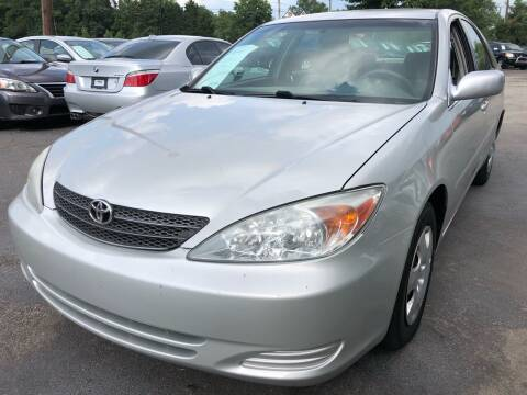 2002 Toyota Camry for sale at Atlantic Auto Sales in Garner NC