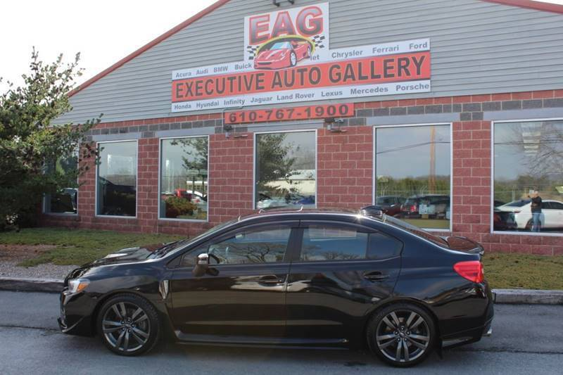 2017 Subaru WRX for sale at EXECUTIVE AUTO GALLERY INC in Walnutport PA