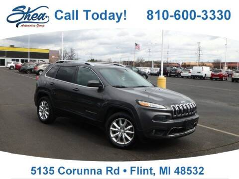 2017 Jeep Cherokee for sale at Jamie Sells Cars 810 - Linden Location in Flint MI