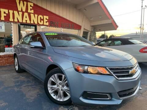 2014 Chevrolet Impala for sale at Caspian Auto Sales in Oklahoma City OK