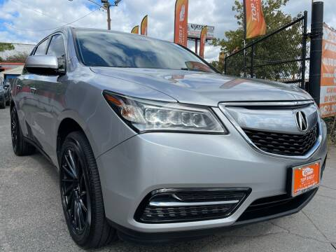 2014 Acura MDX for sale at TOP SHELF AUTOMOTIVE in Newark NJ