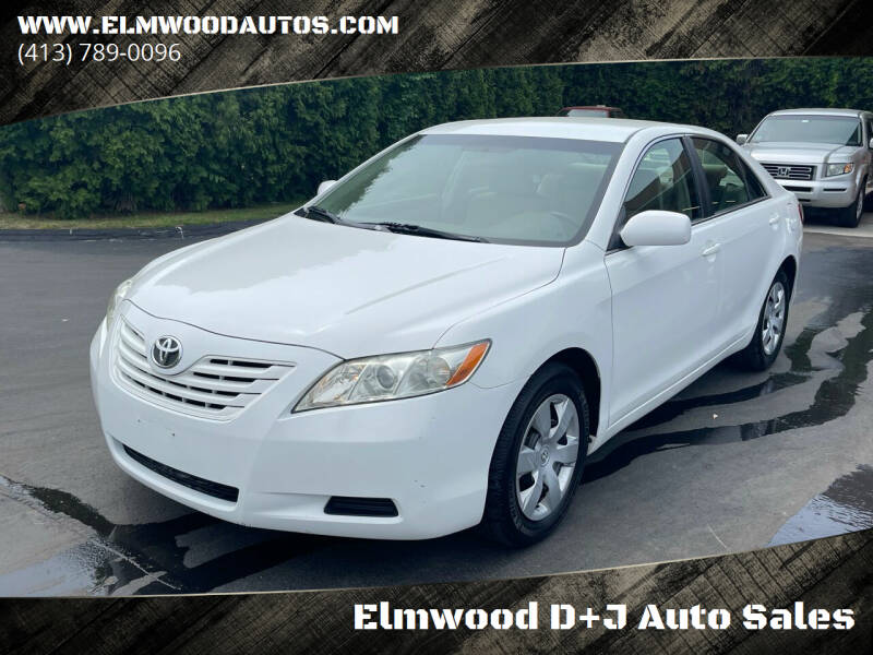 2007 Toyota Camry for sale at Elmwood D+J Auto Sales in Agawam MA
