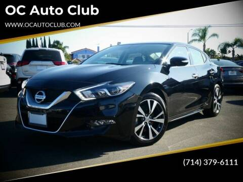 2017 Nissan Maxima for sale at OC Auto Club in Midway City CA