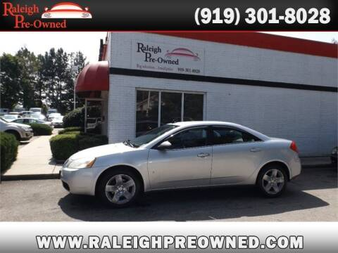 2009 Pontiac G6 for sale at Raleigh Pre-Owned in Raleigh NC