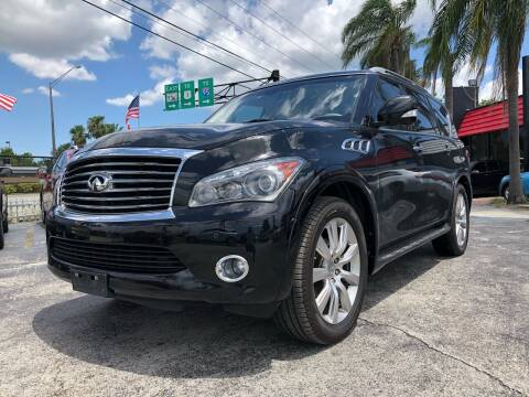 2013 Infiniti QX56 for sale at Gtr Motors in Fort Lauderdale FL