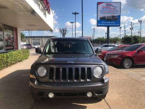 2016 Jeep Patriot for sale at Magic Auto Sales in Dallas TX