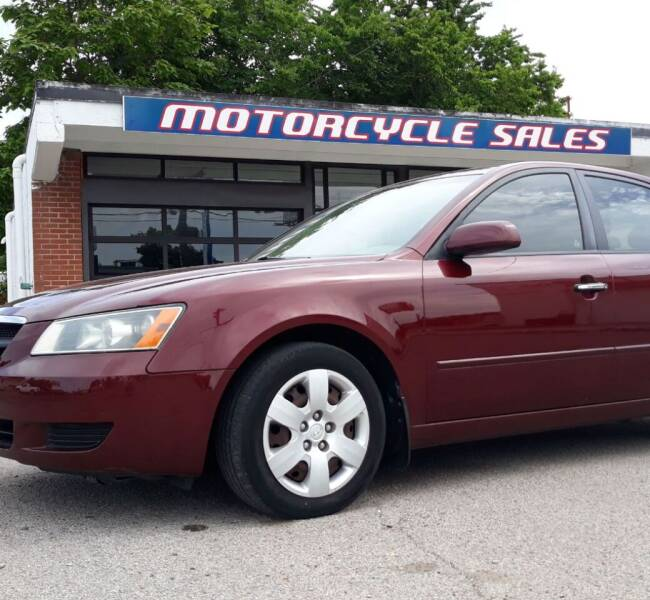 2008 Hyundai Sonata for sale at Wolff Auto Sales in Clarksville TN