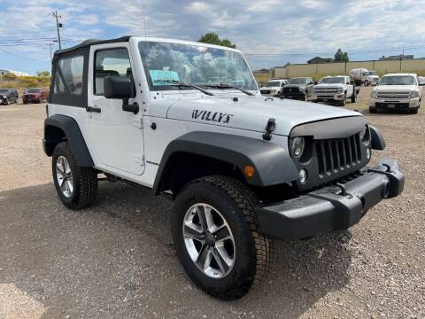 2015 Jeep Wrangler for sale at Northern Car Brokers in Belle Fourche SD