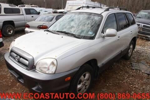 2006 Hyundai Santa Fe for sale at East Coast Auto Source Inc. in Bedford VA