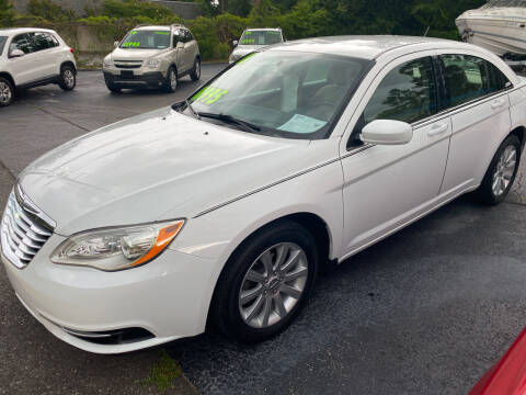 2013 Chrysler 200 for sale at TOP OF THE LINE AUTO SALES in Fayetteville NC