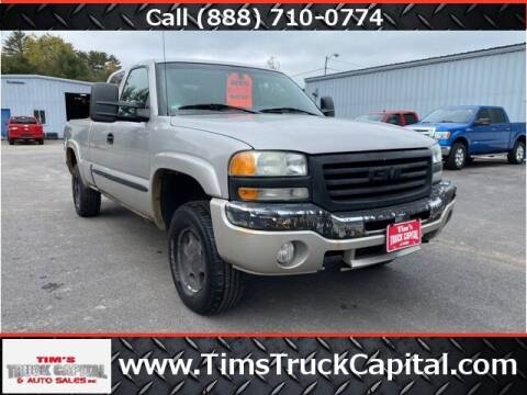 2004 GMC Sierra 1500 for sale at TTC AUTO OUTLET/TIM'S TRUCK CAPITAL & AUTO SALES INC ANNEX in Epsom NH