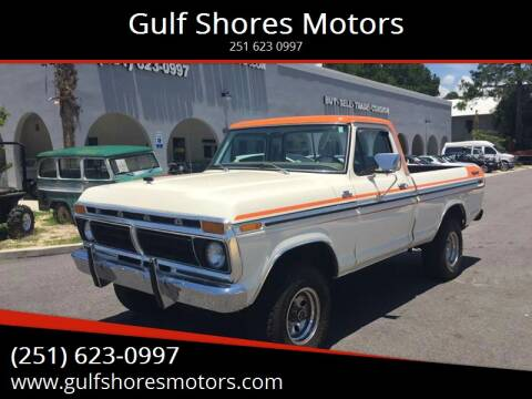 1977 Ford F 150 Custom for sale at Gulf Shores Motors in Gulf Shores AL