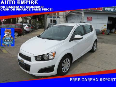 2013 Chevrolet Sonic for sale at Auto Empire in Brooklyn NY