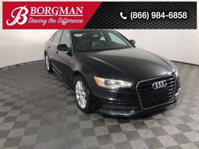 2014 Audi A6 for sale at BORGMAN OF HOLLAND LLC in Holland MI
