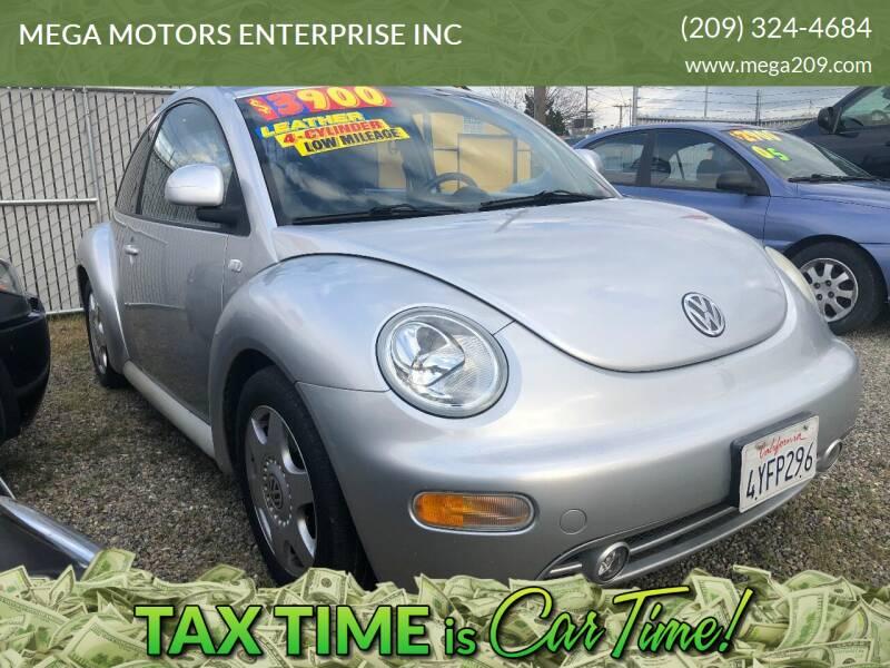 2000 Volkswagen New Beetle for sale at MEGA MOTORS ENTERPRISE INC in Modesto CA