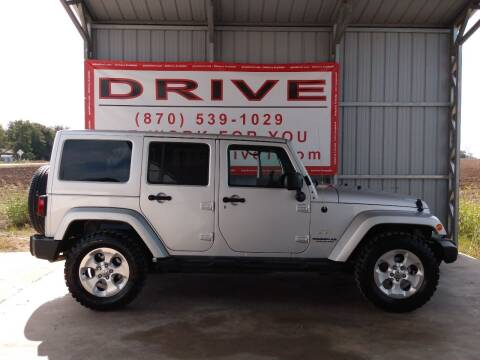 2012 Jeep Wrangler Unlimited for sale at Drive in Leachville AR