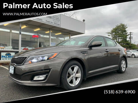 2014 Kia Optima for sale at Palmer Auto Sales in Menands NY