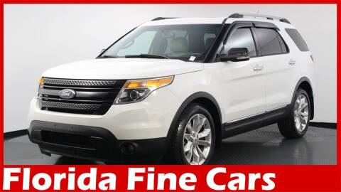 2013 Ford Explorer for sale at Florida Fine Cars - West Palm Beach in West Palm Beach FL