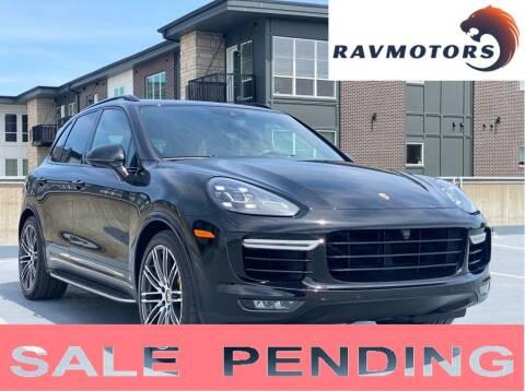 2016 Porsche Cayenne for sale at RAVMOTORS in Burnsville MN