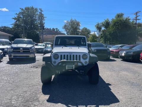 2017 Jeep Wrangler Unlimited for sale at All Starz Auto Center Inc in Redford MI