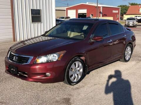 2009 Honda Accord for sale at Decatur 107 S Hwy 287 in Decatur TX