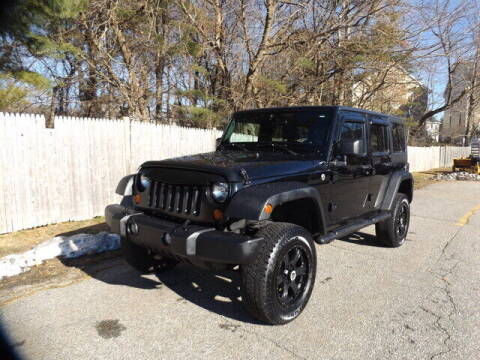2011 Jeep Wrangler Unlimited for sale at Wayland Automotive in Wayland MA