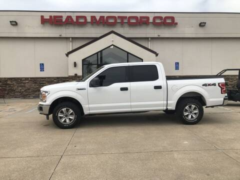 2018 Ford F-150 for sale at Head Motor Company - Head Indian Motorcycle in Columbia MO