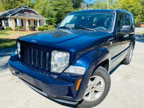 2012 Jeep Liberty for sale at Cobb Luxury Cars in Marietta GA