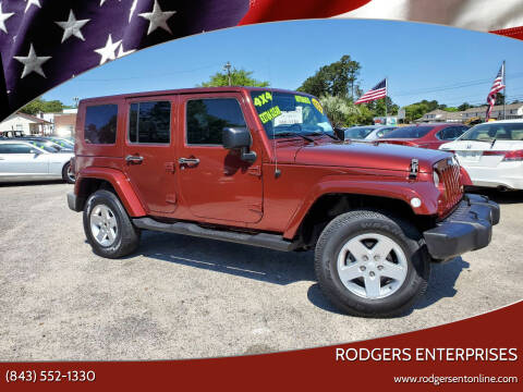 2007 Jeep Wrangler Unlimited for sale at Rodgers Wranglers in North Charleston SC