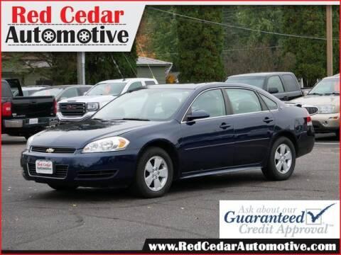 2009 Chevrolet Impala for sale at Red Cedar Automotive in Menomonie WI