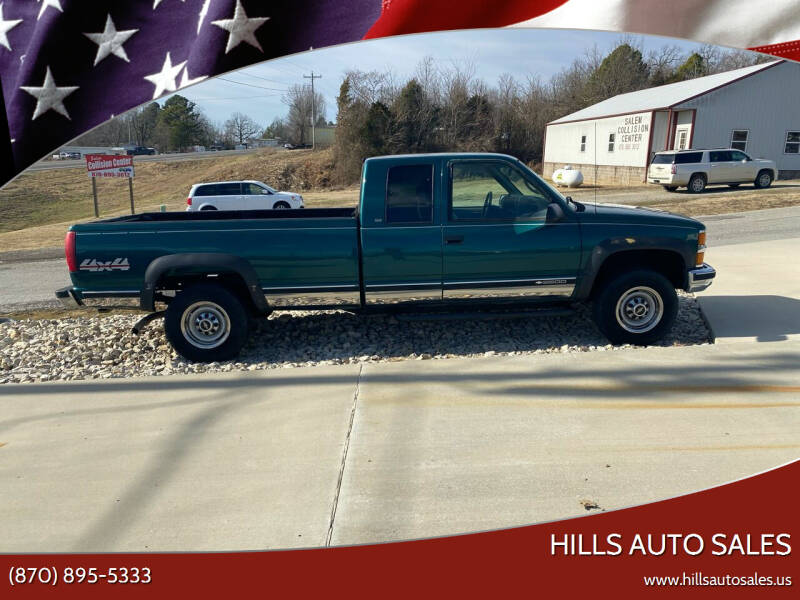 1998 Chevrolet C/K 2500 Series for sale at Hills Auto Sales in Salem AR