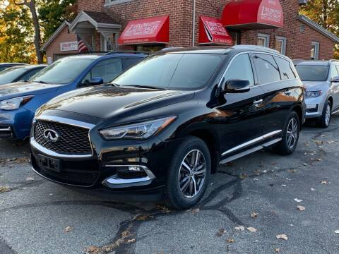 2017 Infiniti QX60 for sale at Ludlow Auto Sales in Ludlow MA