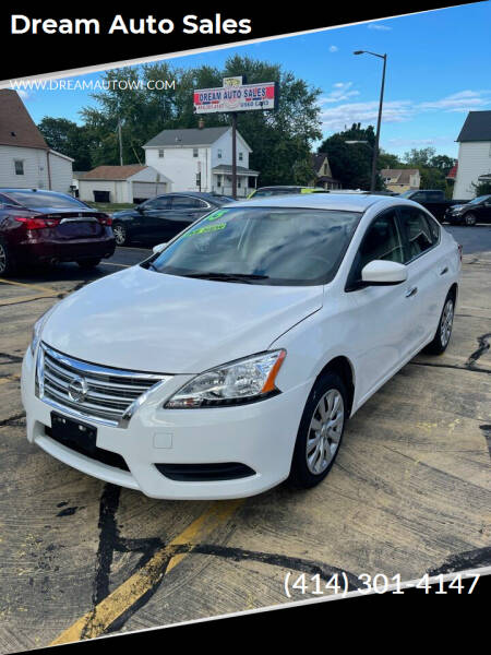 2015 Nissan Sentra for sale at Dream Auto Sales in South Milwaukee WI