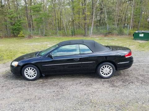 2002 Chrysler Sebring for sale at MIKE B CARS LTD in Hammonton NJ
