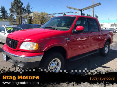 2001 Ford F-150 for sale at Stag Motors in Portland OR