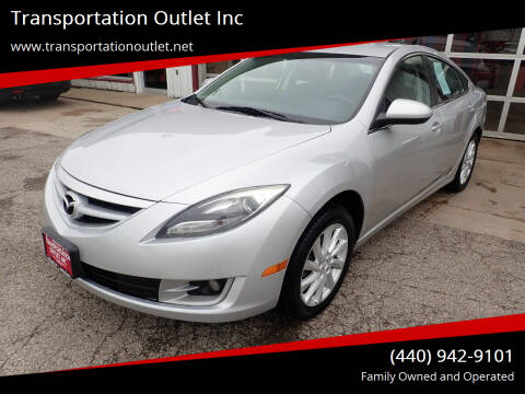 2012 Mazda MAZDA6 for sale at Transportation Outlet Inc in Eastlake OH