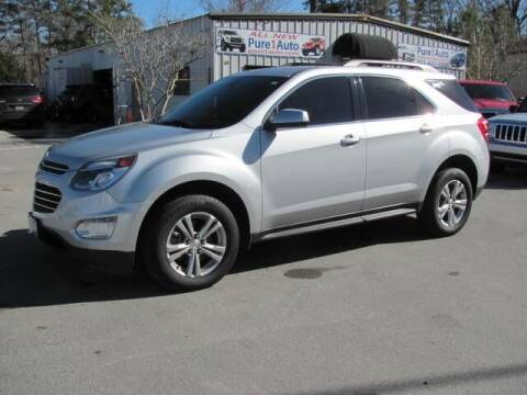 2016 Chevrolet Equinox for sale at Pure 1 Auto in New Bern NC
