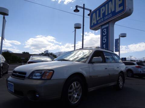 2002 Subaru Outback for sale at Alpine Auto Sales in Salt Lake City UT