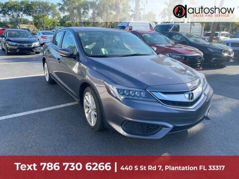 2017 Acura ILX for sale at AUTOSHOW SALES & SERVICE in Plantation FL
