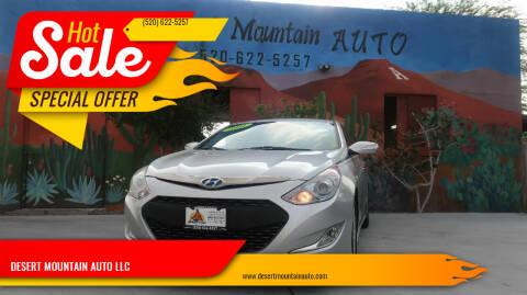2011 Hyundai Sonata Hybrid for sale at DESERT MOUNTAIN AUTO LLC in Tucson AZ