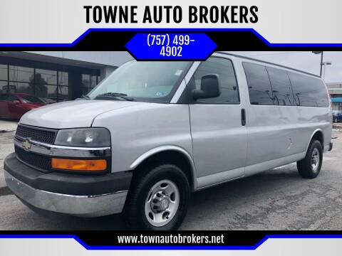 2011 Chevrolet Express Passenger for sale at TOWNE AUTO BROKERS in Virginia Beach VA