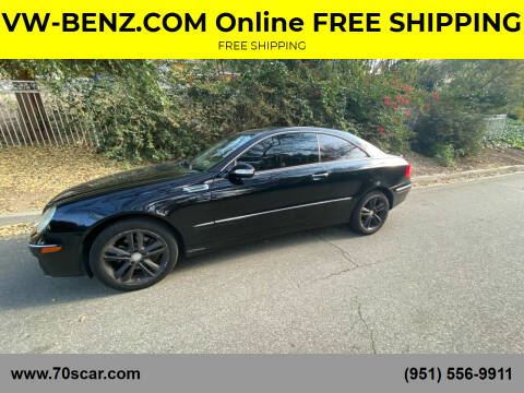 2008 Mercedes-Benz CLK for sale at Online AutoGroup FREE SHIPPING in Riverside CA