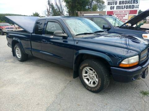 2004 Dodge Dakota for sale at Auto Brokers of Milford in Milford NH