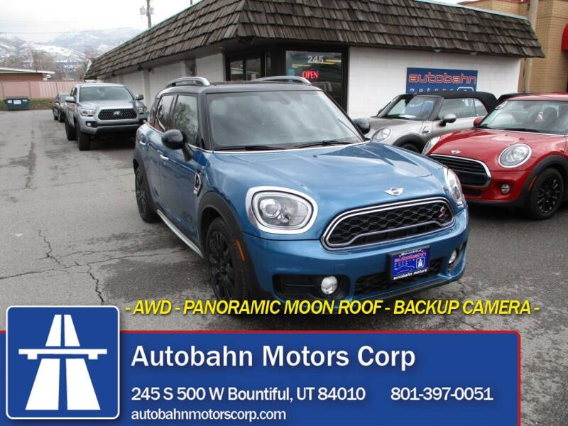 2018 MINI Countryman for sale at Autobahn Motors Corp in Bountiful UT