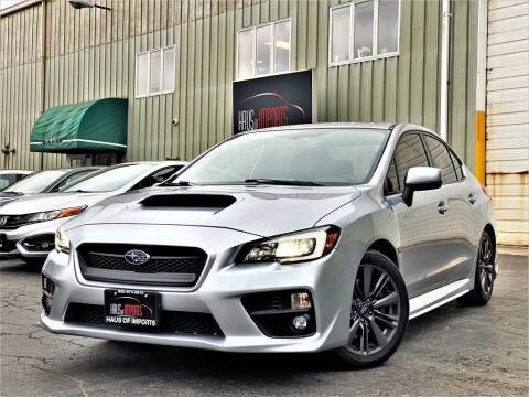 2015 Subaru WRX for sale at Haus of Imports in Lemont IL